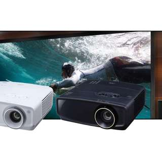 JVC LX-UH1 4K-UHD DLP Projector for Home Theater (Black)