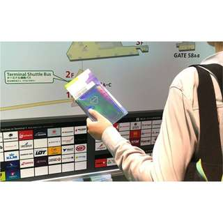 BENTOY HOLOGRAPHIC PASSPORT HOLDER
