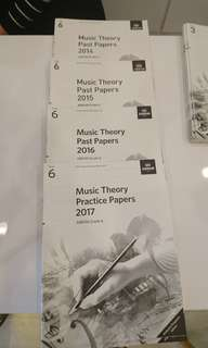 ABRSM GRADE 6 past year theory exam papers