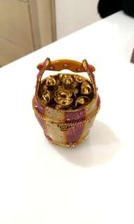 Lucky Money Jar Jewelry Box