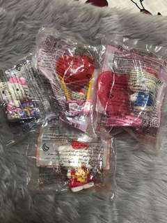 2012 Hello Kitty Heart Collectibles