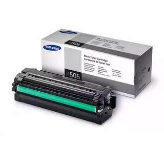 🚚 Samsung CLT-K506L Black Toner