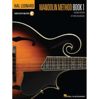 HAL LEONARD MANDOLIN METHOD: BOOK 1 (WITH AUDIO ACCESS)