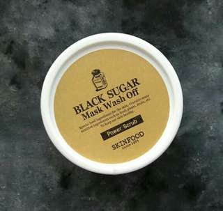 Skinfood black sugar mask wash off 100gr
