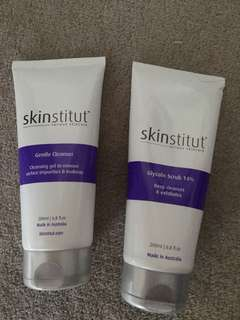 Skinstitut Gentle Cleanser and (or) Glycolic Scrub