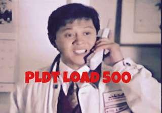 PLDT Load Php 500