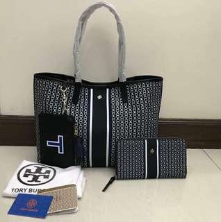 Tory Burch Bag and Wallet Set