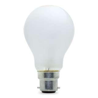 888. 60 WATT PEARL LIGHT BULB BAYONET CAP (2700K)