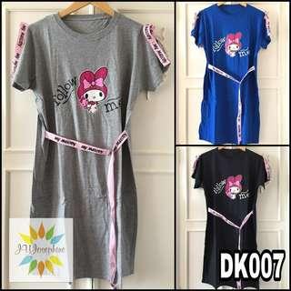 Dress/gaun/kaos cewek