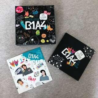 B1A4 What's Happening Album (CNU Sticker)
