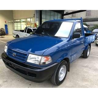 2001年~ TOYOTA豐田~ Zace瑞獅~ 1.8L貨車~ 藍