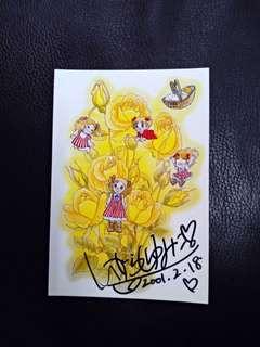 日本漫畫 小甜甜/小雪兒 明信片