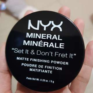 NyX powder mineral mineralle kode 02
