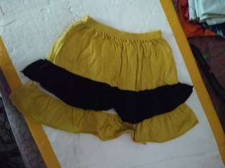 Rok anak kuning