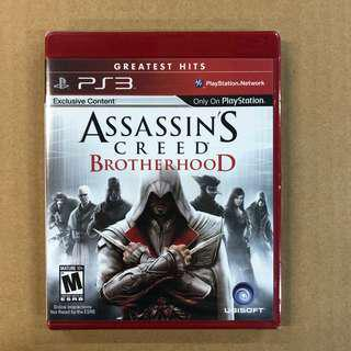PS3 ASSASSIN'S CREED BROTHERHOOD-US     PS3 刺客教條 兄弟會-美版