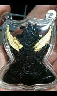 Phra Narai song Krut Phra Rahu coconut amulet