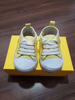 Baby Shoes (Yellow)