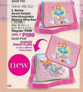 Barbie Sweet Delight Interchangeable Sleeves Sling Bag