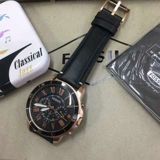 FOSSIL LEATHER AUTHENTIC WATCH