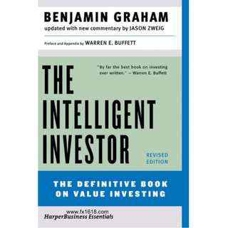 The Intelligent Investor: The Definitive Book on Value Investing (Benjamin Graham) (641 Page Mega eBook)