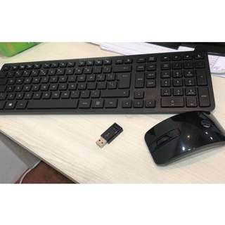 Wireless Mouse, Keyboard (H.P HEWLETT-PACKARD)