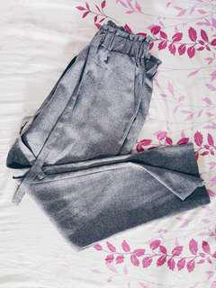 🚚 TEMT Grey Ribbon Pants