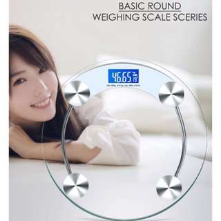 Basic Round body weighing scale ❤️