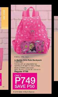 Barbie Girls Rule Backpack