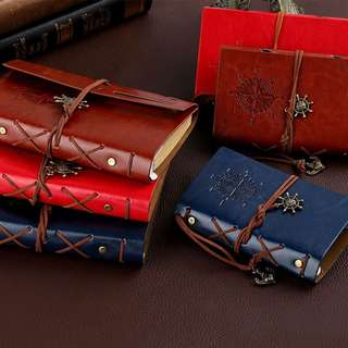 Faux Leather Loose Leaf Notebook [PO]