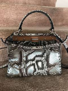 Fendi Peekaboo Mini Pitone bag