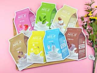 A'Pieu Pure Milk Sheet Mask