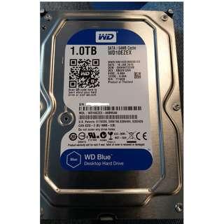 "WD Blue 1TB 3.5"" hard disk"