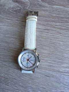 Ladies watch white pearl DKNY