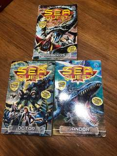 Sea quest Drakos, Octor and Jandor
