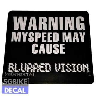 Warning Decal