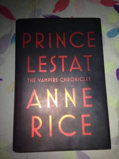 [REPRICED] Prince Lestat by Anne Rice (Hard Bound)