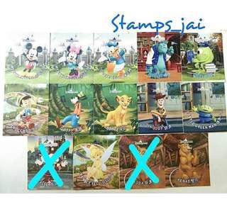 香港迪士尼 迪士尼貼紙 米奇 美妮 唐老鴨 三眼仔 胡迪 大眼仔 毛毛 辛巴 小木偶