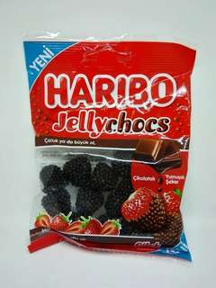 Permen haribo jelly chocs made in turkey