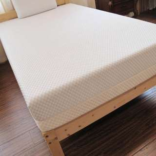 "Single Premium Memory Mattress 8""thickness W/ CoolTech Gel,"