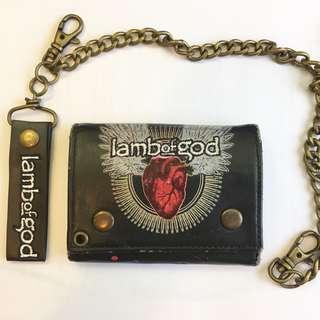 Lamb of God 搖滾金屬銀包
