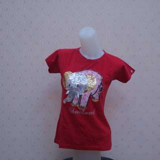 Red elephant top