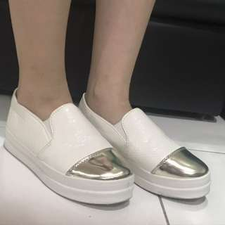 Korean loafers with heels
