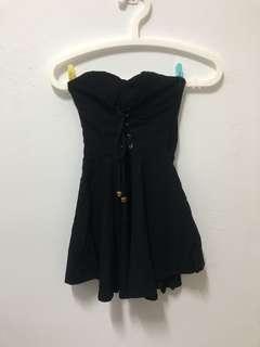 🚚 平口黑色小禮服