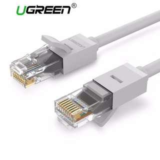 UGREEN, Cat-6 RJ45 Ethernet Thick 26AWG Cable 1M, White