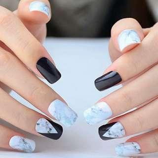 🚚 P.O. nail sticker