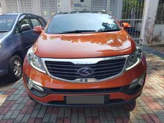 SAMBUNG BAYAR/CONTINUE LOAN  KIA SPORTAGE TURBO 2.0 AUTO YEAR 2012 MONTHLY RM 1200 BALANCE 5 YEARS ROADTAX 2019 FULLSPEC SUNROOF MOONROOF LEATHER SEAT  DP KLIK wasap.my/60133524312/sportage