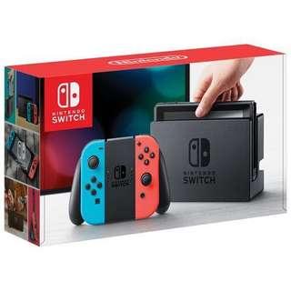 BNIB NEON Nintendo Switch Console