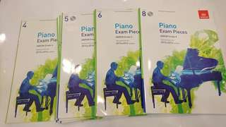 ABRSM Practical Exam '15-'16 syllabus G 4,5,6,8