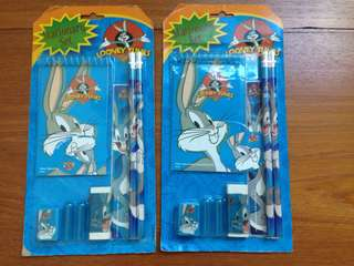 Looney tunes stationary set