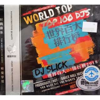 World Top 100 DJs SJ Slick 3CD (Imported)